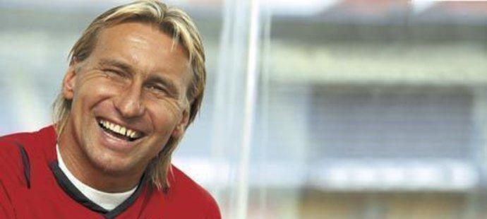 Asistent trenéra Michala Bílka Horst Siegl