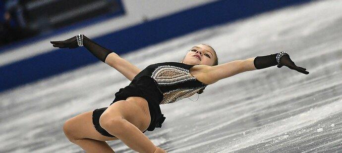 Třináctiletá ruská krasobruslařka Alexandra Trusovová je jedním z největších světových talentů...
