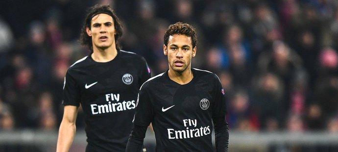 Na začátku si Neymar a Cavani v PSG moc nerozuměli, dnes už spolu vychází dobře