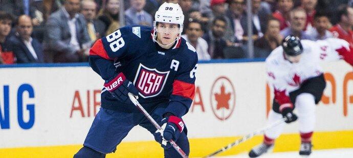 Americký útočník Patrick Kane si po dlouhé době nezahraje play off NHL. Zahraje si na světovém šampionátu?