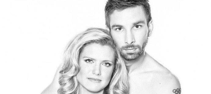 Petr Koukal s manželkou Gabrielou na fotkách v kampani proti rakovině