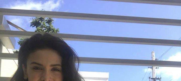 Sportovní moderátorka Monika Čuhelová a její dovolená v Puerto Ricu.