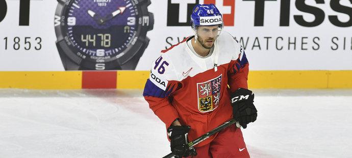 David Krejčí se po delší době objevil na ledě při zápasu mistrovství světa