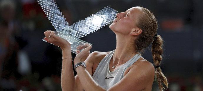 Petra Kvitová má letos na kontě už čtvrtý turnajový titul