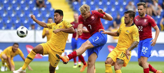 Antonín Barák nemohl být s výkonem českého týmu spokojen