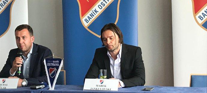 Marek Jankulovski, nový sportovní ředitel Baníku