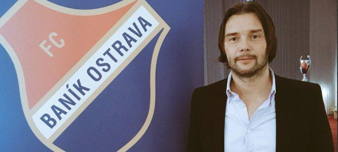 Marek Jankulovski v nové roli sportovního ředitele Baníku Ostrava