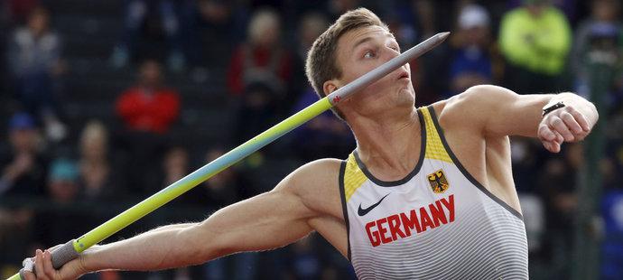 Thomas Röhler už dvakrát letos překonal hranici devadesáti metrů