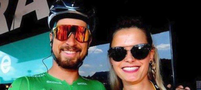 Sexy němka Linda navštívila během Tour de France Petera Sagana.