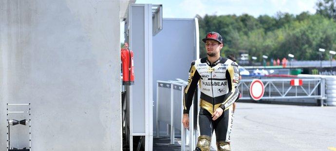 Karel Abraham se na domácí grand prix v Brně bude chtít porvat o bodované pozice