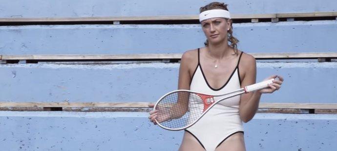 Petra Kvitová pózovala i v takovýchto sexy plavkách...
