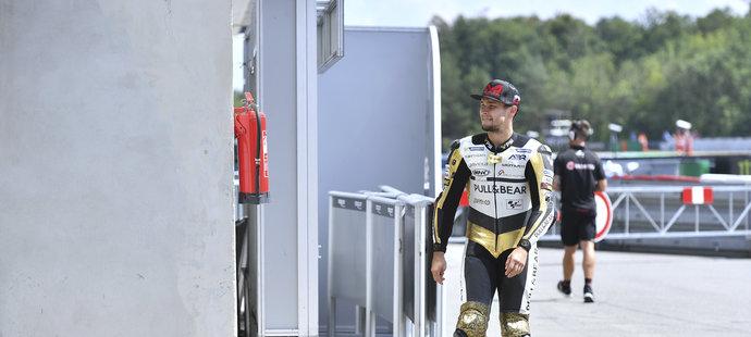 Karel Abraham během letošní Grand Prix v Brně