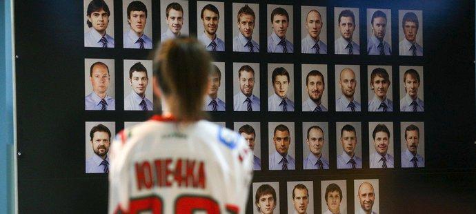 Na jedné ze zdí v útrobách kazaňského stadionu bylo vytvořeno i tablo zesnulých hráčů a realizačního týmu tehdejšího týmu Jaroslavle