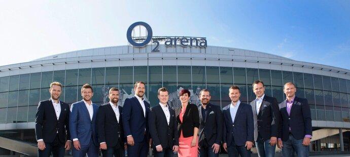 Hokejový tým O2 TV Sport je připraven na novou výzvu! Extraliga odstartuje už v pátek 14. září