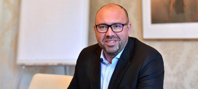 Nový generální ředitel fotbalové Sparty František Čupr.