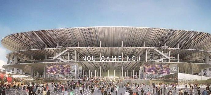 Rekonstrukce slavného Nou Campu by měla navýšit kapacitu stadionu Barcelony z necelých sta tisíc na 105. Rekonstrukce vyjde na 360 milionů eur