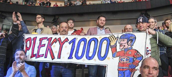 Tomáš Plekanec má v Montrealu mnoho fanoušků
