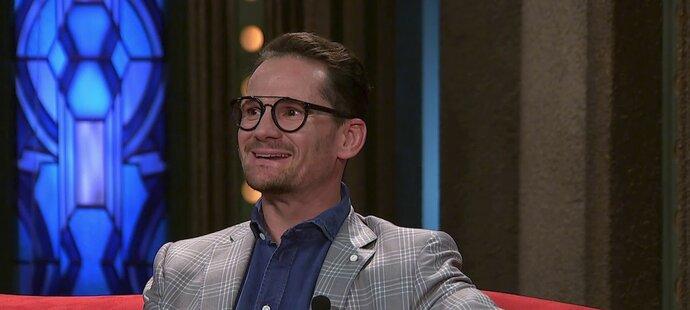Patrik Eliáš v Show Jana Krause bavil diváky