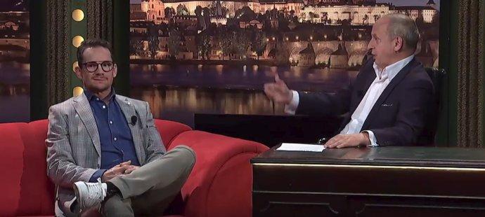 Patrik Eliáš v Show Jana Krause