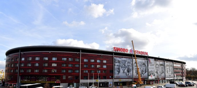 Fotbal Slavia Pinterest: From Eden There Is The Sinobo Stadium. The Name Has A New