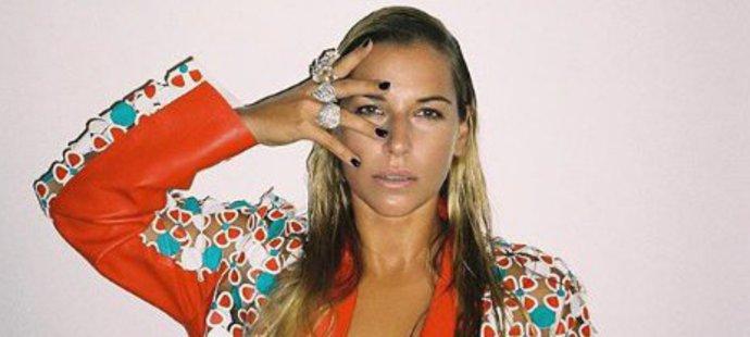 Dominika Cibulková pózovala s klenoty značky ALO diamonds