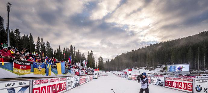 Markéta Davidová si dojela v Pokljuce pro první medaili ve Světovém poháru, v individuálním závodě získala bronz