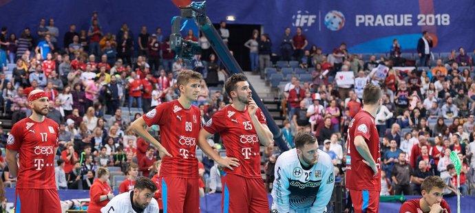 Český smutek po prohře se Švýcary v zápase o třetí místo