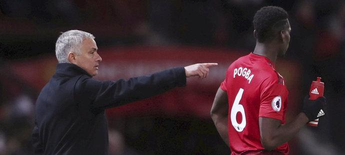 Mourinhův napjatý vztah se záložníkem Paulem Pogbou je označován za jeden z důvodů předčasného konce portugalského kouče