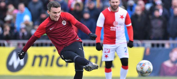 David Lafata gólem z penalty rozhodl o vítězství Sparty v utkání internacionálů
