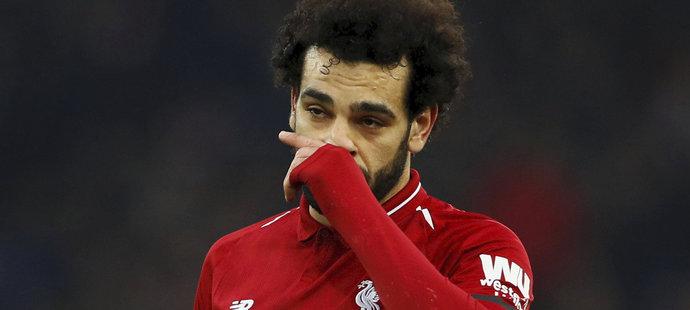 Mohamed Salah je klíčovým hráčem Liverpoolu, kritikům ale vadí jeho časté simulování