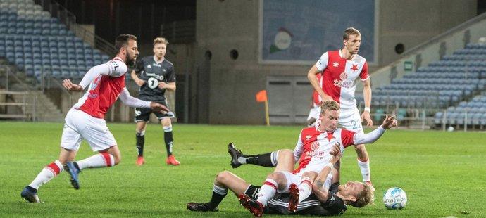 Slavia v posledním utkání přípravy porazila Rosenborg Trondheim