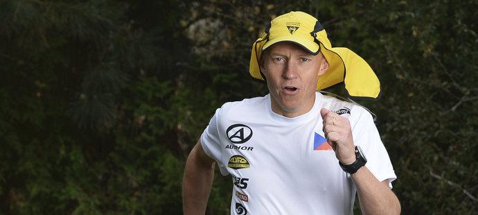 Dálkový běžec a triatlonista Petr Vabroušek