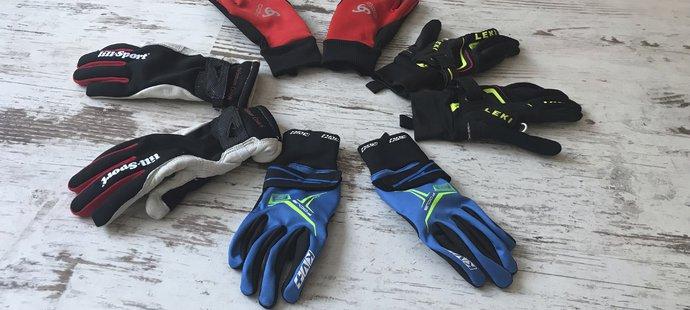Rukavice pro běžkaře