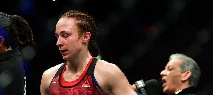 Lucie Pudilová musela v Praze skousnout porážku, Liz Carmoucheová byla lepší na body