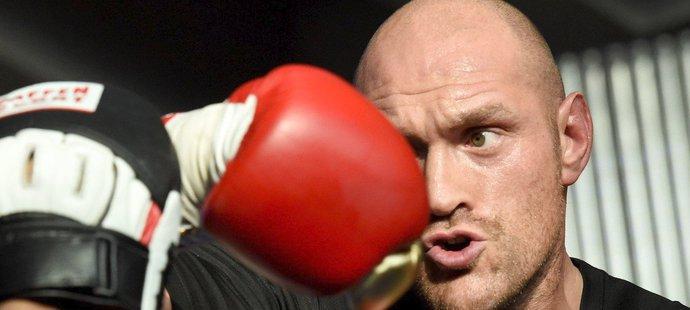 Hvězda světového boxu Tyson Fury