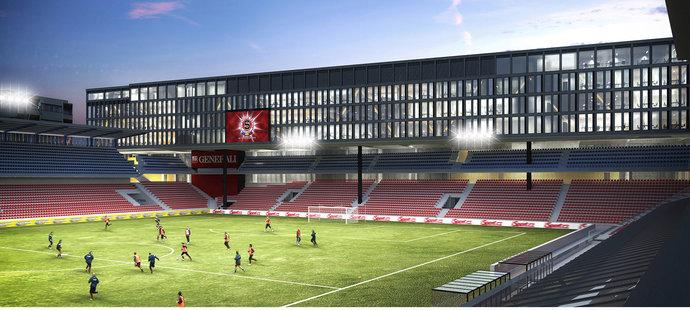 Takhle by za pár let mohl vypadat sparťanský stadion