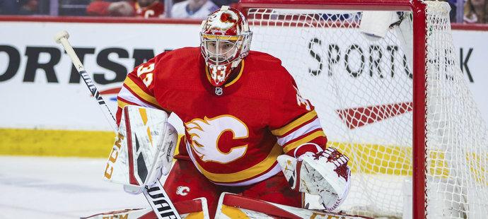 David Rittich nezabránil 26 úspěšnými zákroky domácí porážce hokejistů Calgary v pondělním utkání NHL s Torontem 2:6.
