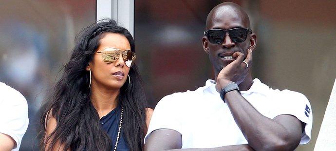 Kevin Garnett s manželkou Brandi, která se s ním rozvádí a chce miliony