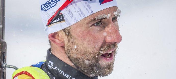 Tomáš Krupčík dojel v závodě s hromadným startem na MS v Östersundu na 20. místě