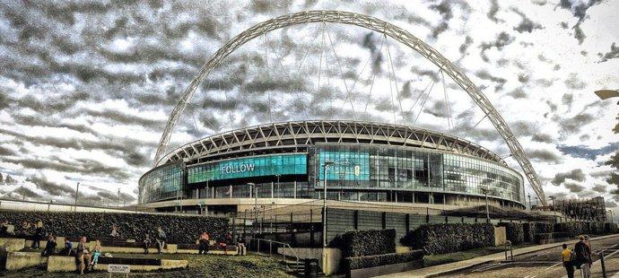 Anglická chlouba. Stadion Wembley pojme až 90 tisíc fanoušků a pyšní se zajímavými architektonickými prvky