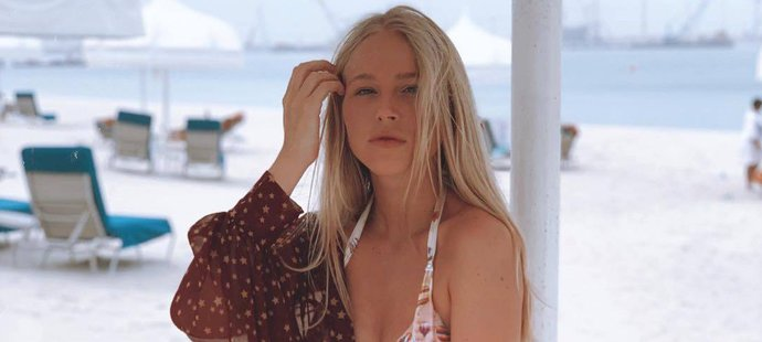 Dcera Pavla Nedvěda Ivanka má postavu modelky