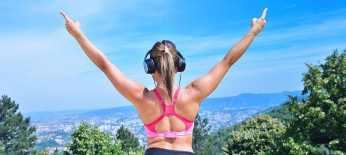 Posloucháte při tréninku hudbu?