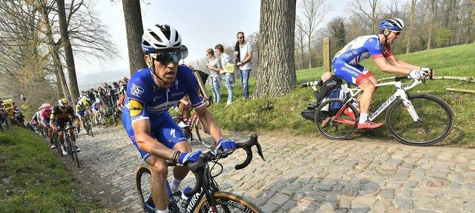 V nedělním závodě Kolem Flander se Zdeněk Štybar musel vypořádat se žaludečními problémy, na lepší výsledek cílí už na konci tohoto týdne v klasice Paříž-Roubaix