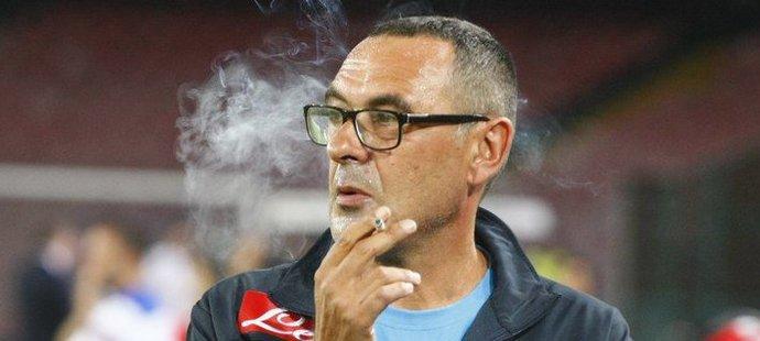 Maurizio Sarri je vášnivým kuřákem
