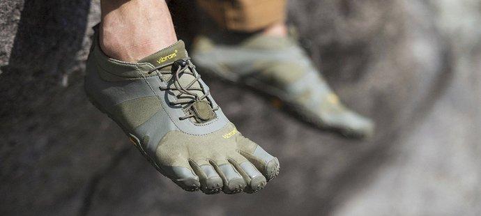 Minimalistické boty bez tlumící vrstvy