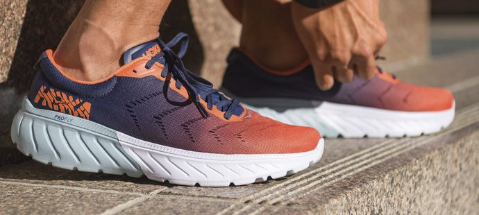 Výrazně tlumené běžecké boty