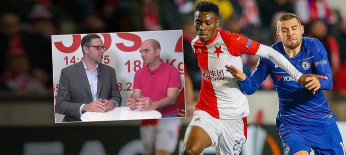 Slavia zahanbila reprezentaci, jen Hušbauer vypustil sprint před gólem