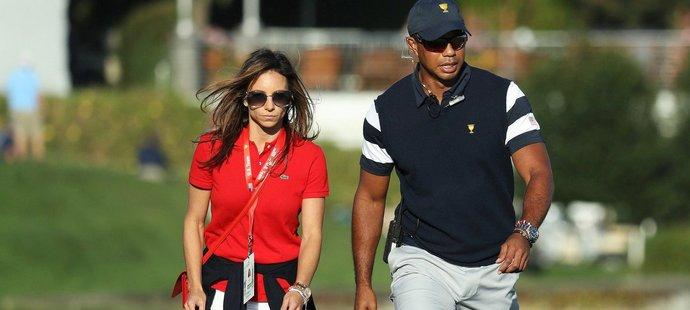Tiger Woods našel životní oporu v bývalé manažerce jeho vlastní restaurace Erikou