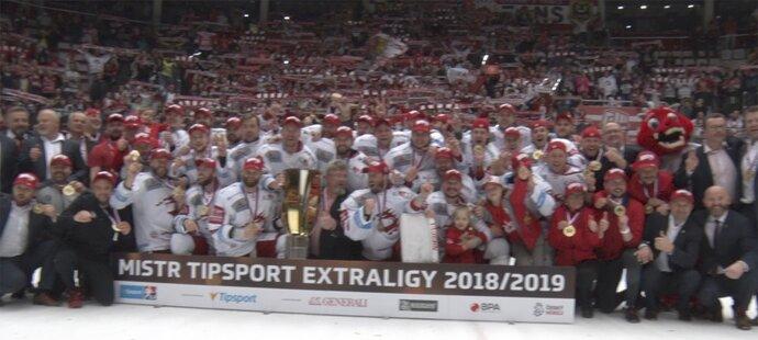 SESTŘIH: Třinec – Liberec 4:2. Hotovo! Oceláři slaví druhý titul v historii