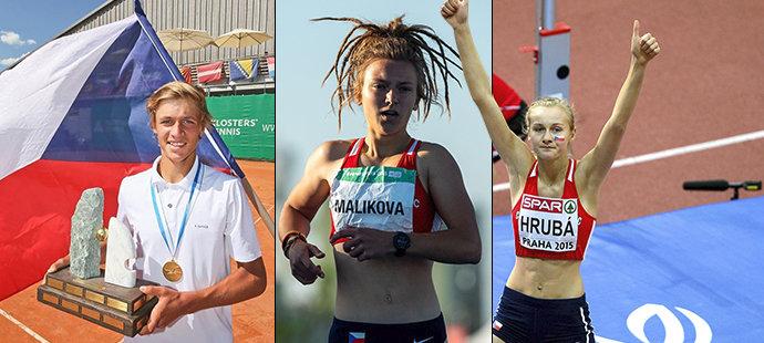 Kdo jsou české sportovní hvězdy budoucnosti?